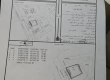 ارض سكنيه تجاريه في مينا صحار  على الشارع العام جنب ملعب الحد  في مينا صحار