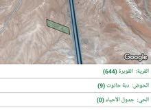 ارض للبيع ع الطريق الصحراوي(10دونم)