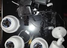 كاميرات مراقبة مع نظام تسجيل