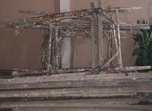 حديد فرنسي للمقاولات او الديكور مستعمل ونظيف كان مستعمل لديكور