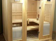 غرف ساونا خشبية واجهزة غرف البخار
