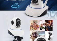 Wifi Smart Camera كاميرا واي فاي ذكية مع ميكروفون مدمج وسماعة