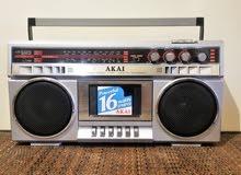 vintage Japanese cassette recorder