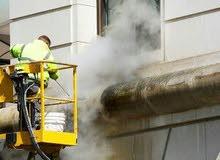 رخصة تجارية تنظيف رمل sand blast