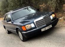 Automatic Blue Mercedes Benz 1990 for sale