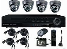 كاميرات مراقبة بتوصيل