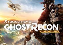 لعبة ghost recon ps4 للبيع او للبدل