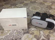 نظارة vr box استعمال يومين مع الباكو بتاعها