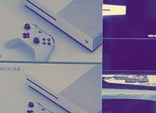Xbox One S video game console up for sale. For hardcore gamers