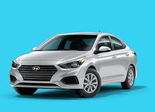 Gasoline Fuel/Power car for rent - Hyundai Accent 2019