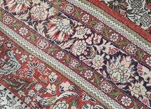 سجادة إيرانية حرير كامل صنع يدوي قياس 180 سم في 140 سم