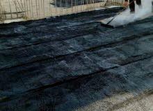عزل اسطح وعزل جدران ضد الدلف والرطوبة .