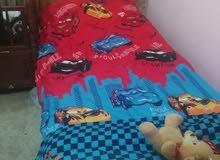 سرير مفرد عدد 2 مع لوح الاتيه عدد تنين بدون الفرشات