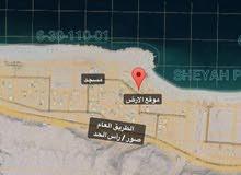 ارض سكنية ولاية صور مخطط شياع الخط الثاني من البحر