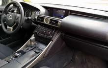 Lexus IS 2015 For sale - Black color