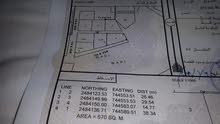 للبيع ارض ف الفليج خلف المدرسه مفتوحه من ثلاث جهات