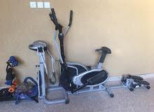للبيع دراجة مستعملة للتمارين الرياضية تنحيف