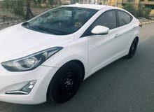 لبيع ألنترا 2015 للبيع سيارة رقم معوقين ذيقار السيارة خليجي مكفوله من التبديل وا