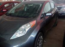 Nissan Leaf car for sale 2015 in Zarqa city