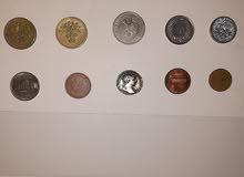 عملات تراثية عربية صورة واحدة العملات عربية اجنبيه صورتين