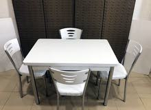 Available for sale in Jeddah - New Tables - Chairs - End Tables