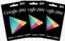 بطاقات ايتونز و جوجل بلاي