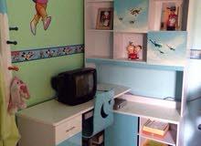 غرفة نوم اطفال بحاله جيده جداً ...