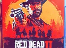 لعبة RED DEAD REDEMPTION 2 شبه جديدة للبيع كاش او صك