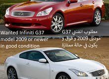 Wanted Infiniti G37