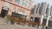 للبيع والتنازل مطعم ومقهي في أسواق القرين مساحة 140م جديد