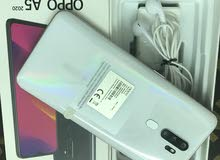 oppo A5 2020 with complete accessories box original charger and headphones