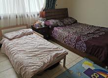 سرير نفر ونص وسرير اطفال