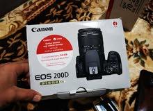 كاميرا كانونD200 عدسه 70-200