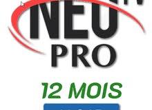 ABONNEMENT NEOTV PRO SMART TV ANDROID 12 MOIS