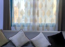 curtains with holding bar price negotiable