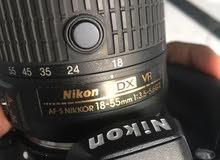 كاميرا نايكون 3200D للبيع شبوه عتق