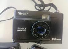 كاميرا vivitar انتيك شغالة مع مرحبا فلاش 30$
