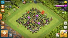للبيع clash of clans بيت لفل 8 ماكس