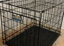Crate for dogs/cats small to medium size  Like new 60*50cm