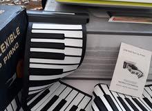 بيانو اورك سليكوني 88 مفتاح للعزف على الحاسوب الايباد الموبايل