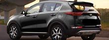 للايجار بسائق و بدون سائق كيا اسبورتاج 2020