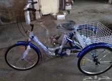 مطلوب دراجة  هوائية ثلاث عجلات