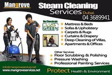 Villas, Apartments & Offices Deep/ Steam Cleaning Service