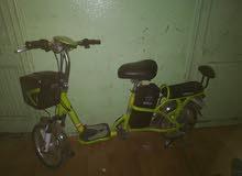 دراجة كهربائية بحالة جيدة