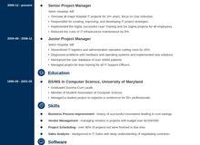 اعداد السيرة الذاتية  Creating CV