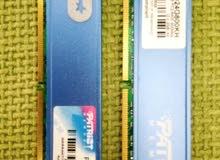 Ram patriot 8G. 2X4G رامات باتريوت DDR2