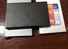 محفظة بطاقات الامنيوم حامية من لاختراق الواي فأي