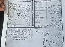 ارض سكني تجاري زاويه- في الغبرة الشمالية