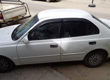 هونداي فيرنا 2002 بحاله جيدة محرك 15 مشاء الله خاليه من الحوادث الكنبيو مشاء لله