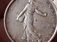 5 franc 1963 silver 12g